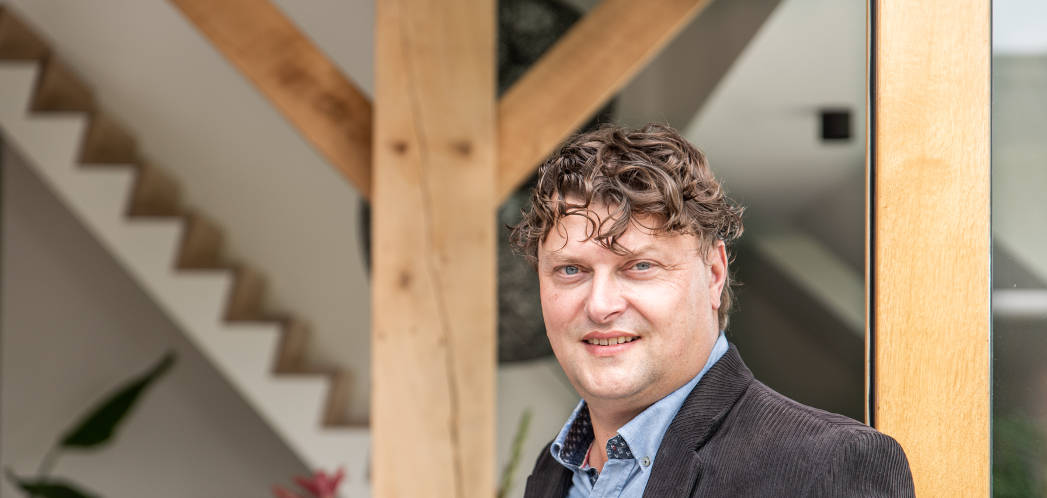 Bouwbegeleider en bouwkundig expert Manfred Borreman